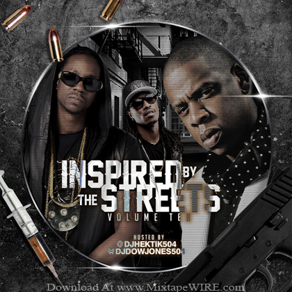 Dj_Hektik_Dj_Dow_Jones_Inspired_By_The_Streets_Vol_10_Mixtape