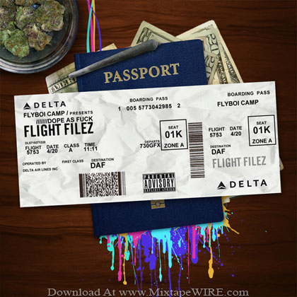 Flyboi-Camp-Flight-Filez-Dope-As-Fuck-DAF-Mixtape