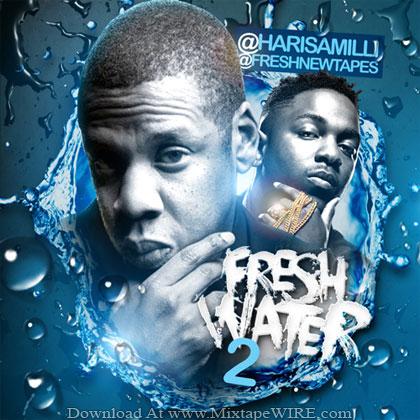 Jay-Z-Kendrick-Lamar-Freshwater-Vol2-Mixtape-By-DJ-Haris-Amilli