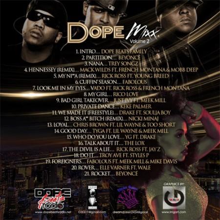 dope-mixx-2-tracklist