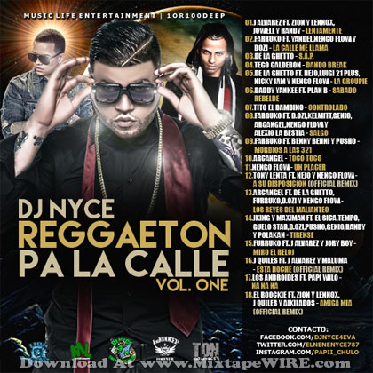 Reggaeton-Pa-La-Calle-Vol-1