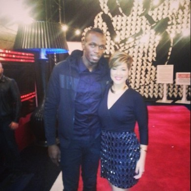 Usain-Bolt-and-Tessanne-Chin-The-Voice