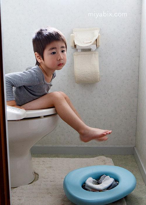 子供,トイレ