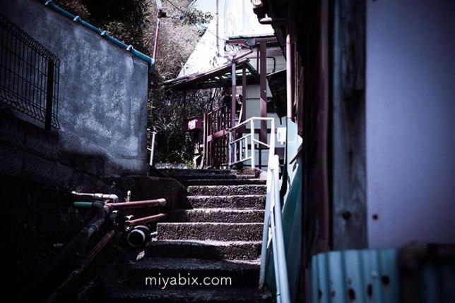階段,民家