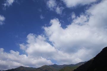 9日の空の写真