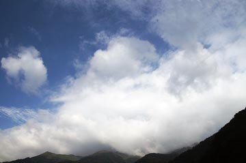 23日の空の写真