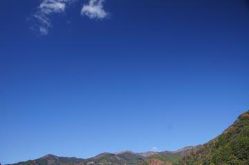 2日の空に写真