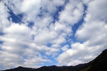 10日の空の写真