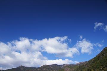 13日の空の写真