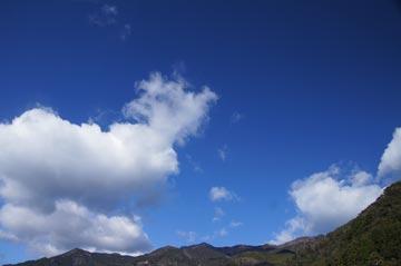 17日の空の写真