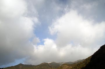 4日の空の様子