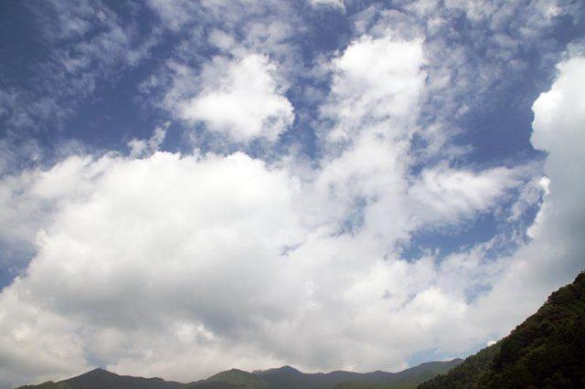 12日の空の様子