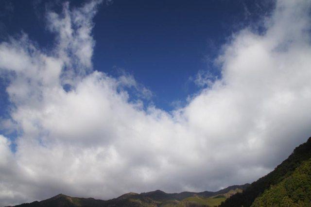 24日の空の様子