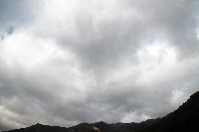 10日の空の様子