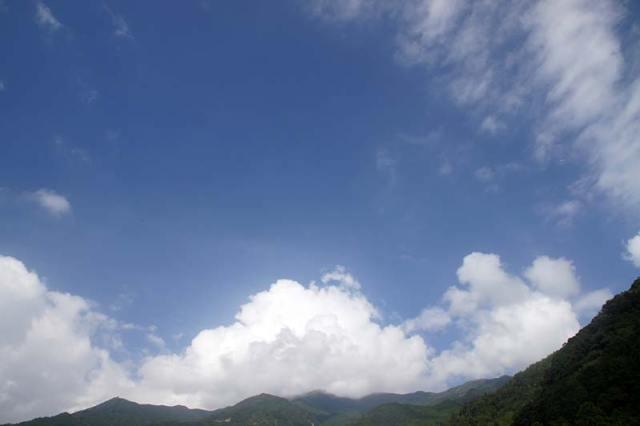 10月1日の空の様子