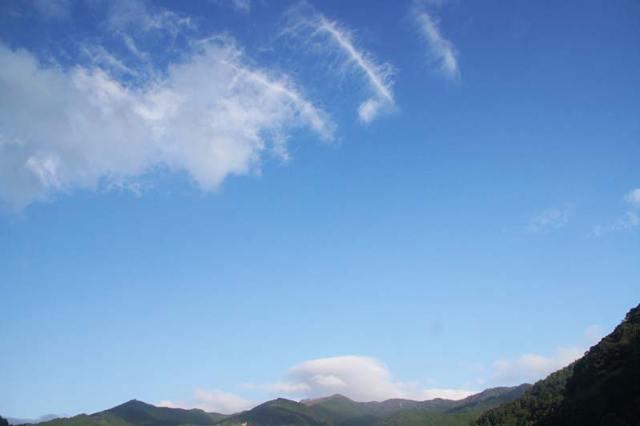 10月6日の空の様子