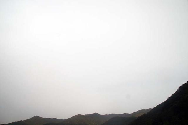 10月27日の空の様子