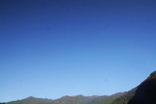 10月28日の空の様子