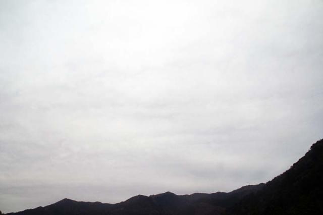 12月22日の空の様子