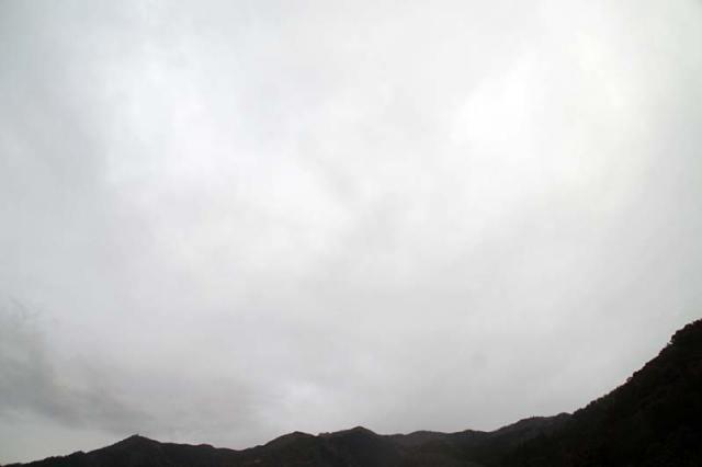 1月7日の空の様子