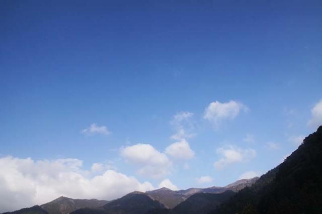 2月8日の空の様子