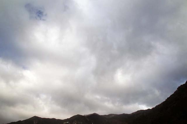 2月9日の空の様子