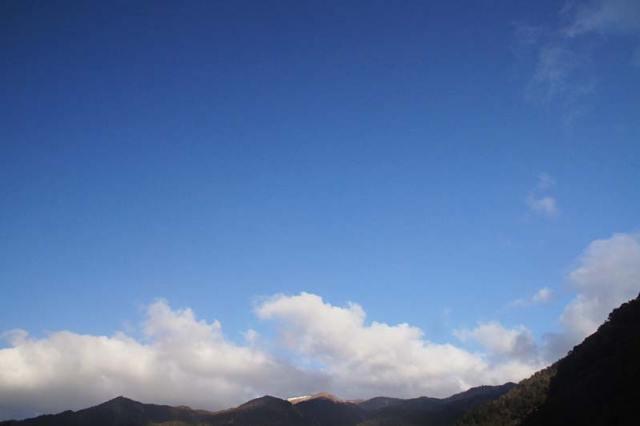 2月11日の空の様子