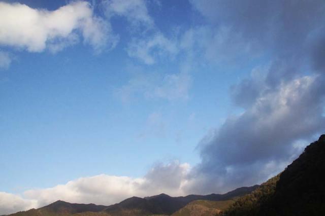 2月17日の空の様子