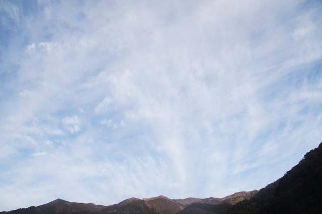 3月3日の空の様子
