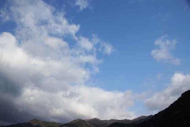 4月10日の空の様子