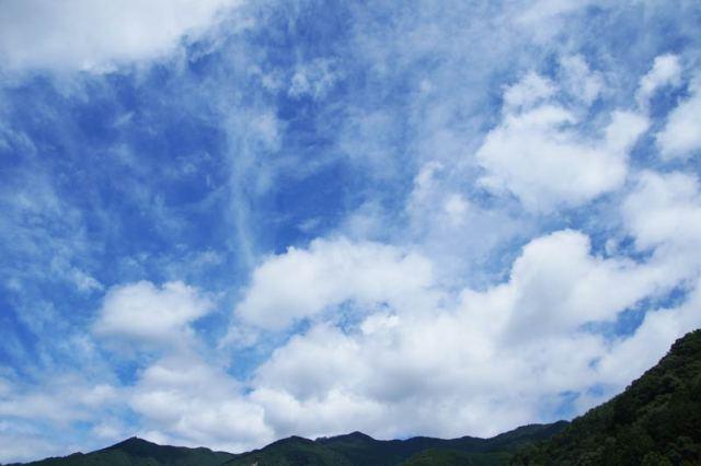 7月16日の空の様子