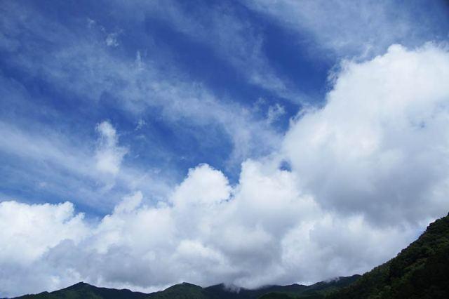 7月18日の空の様子