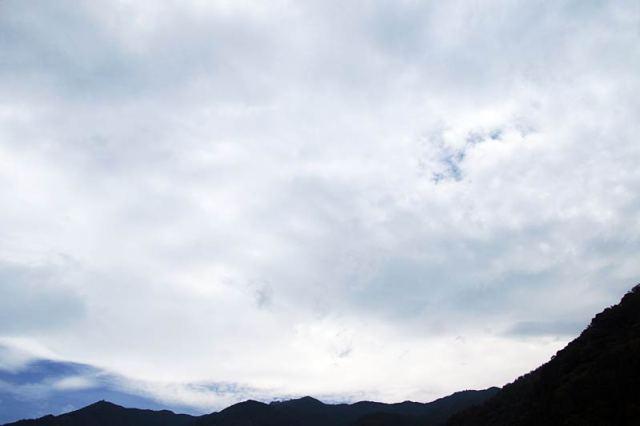 7月29日の空の様子