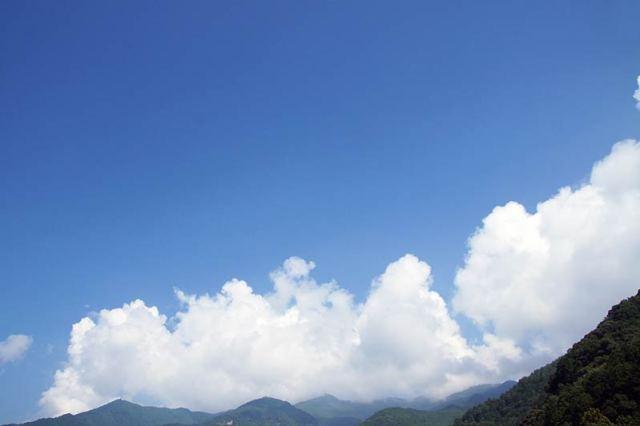 8月22日の空の様子