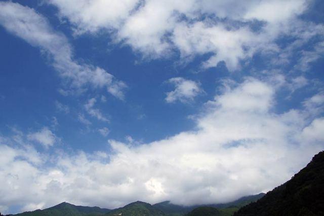 8月26日の空の様子