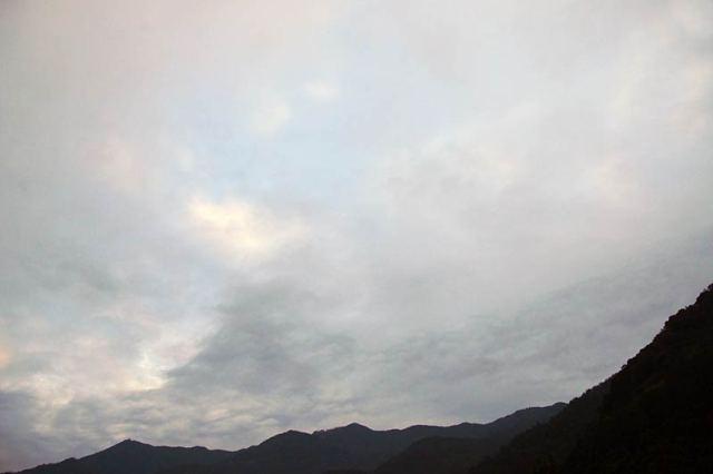 9月24日の空の様子