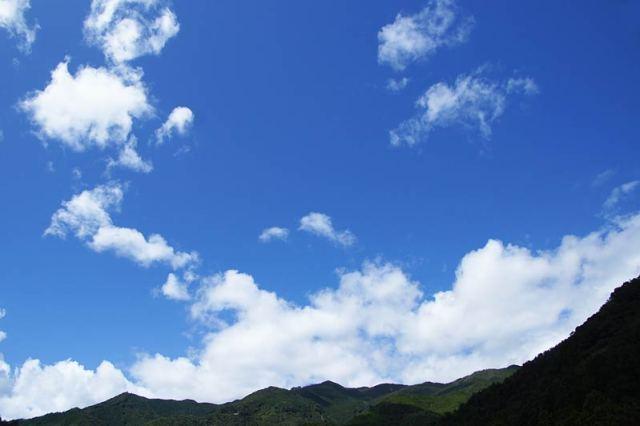 9月27日の空の様子