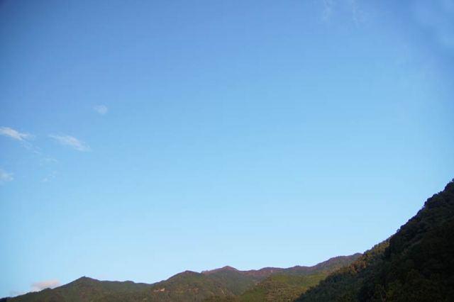 10月30日の空の様子