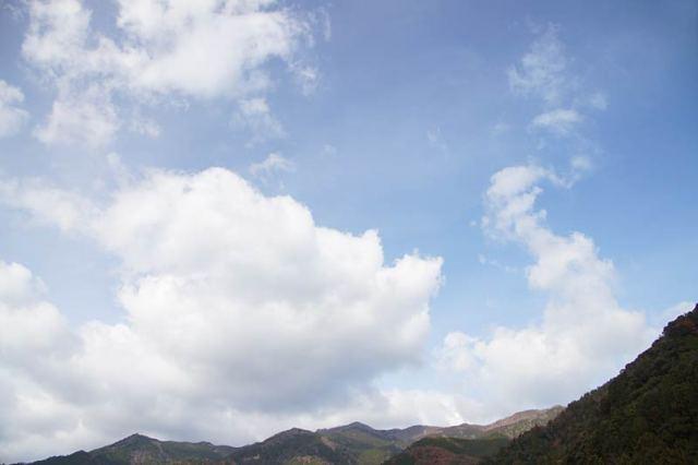 12月13日の空の様子