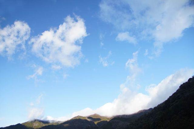12月30日の空の様子