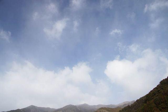 1月29日の空の様子