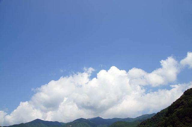 8月1日の空の様子