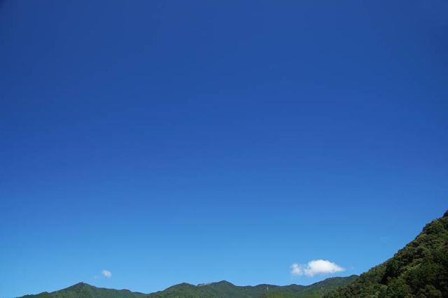 8月8日の空の様子