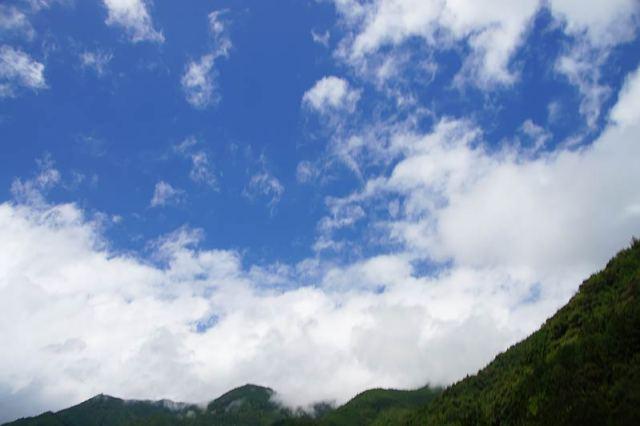 8月20日の空の様子