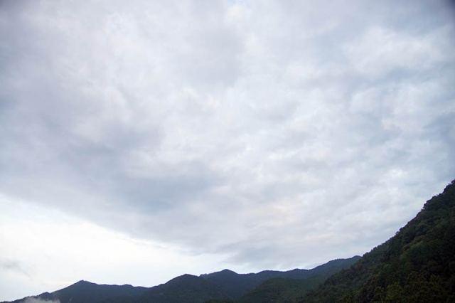 8月23日の空の様子