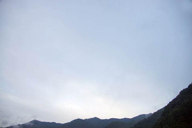 8月24日の空の様子