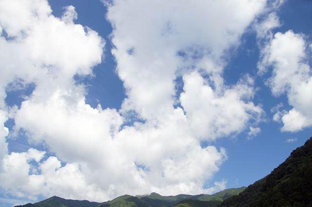 9月6日の空の様子