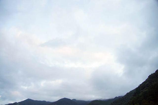9月7日の空の様子