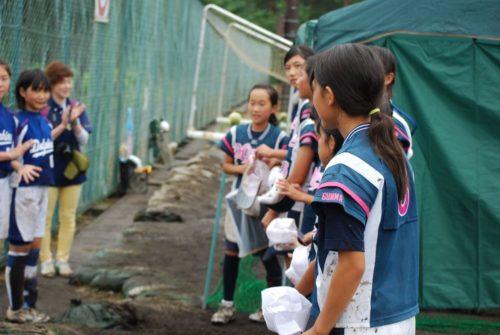 第9回ミズノカップ東日本小学生女子ソフトボール大会 vs能代ドルフィンズ戦