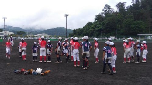 第9回ミズノカップ東日本小学生女子ソフトボール大会 vsアンジェリーク水沢戦